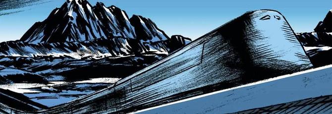 """Посмотрите, как художник рисует иллюстрации к приквелу """"Сквозь снег"""""""