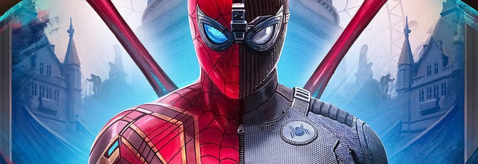 """Полноценная подборка забавных блуперов из """"Человек-паук: Вдали от дома"""""""