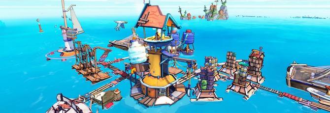 Градостроительный симулятор Flotsam вышел в раннем доступе Steam