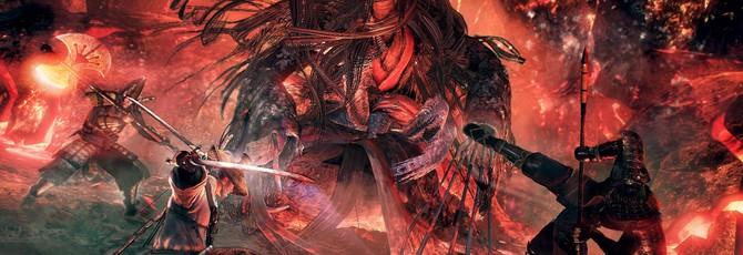 Мультиплеер на троих в новом геймплее Nioh 2
