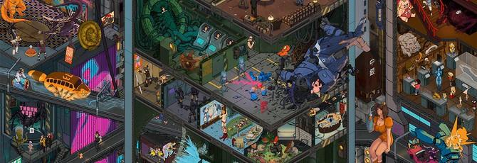 200 персонажей из разных вселенных на шикарном арте