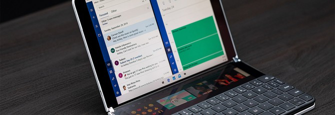 Microsoft представила Surface Neo — ноутбук-гибрид с двумя экранами