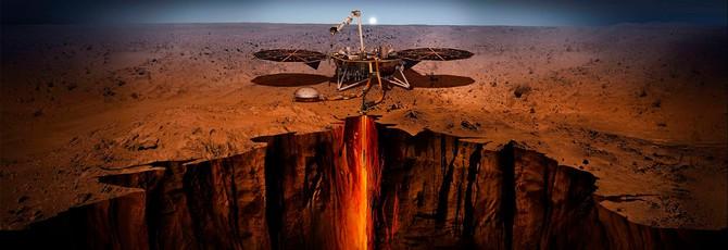 NASA поделилась звуками, записанными марсианским сейсмометром