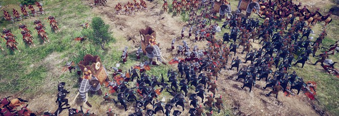 Средневековые сражения в трейлере стратегии Taste of Power