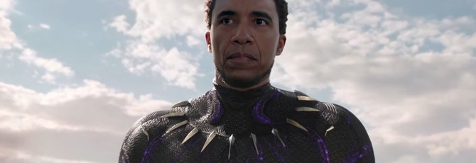 Дипфейк превратил Барака Обаму в Черную пантеру — качество нового уровня