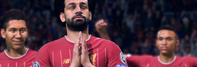 UK-чарт: FIFA 20 удерживает лидерство третью неделю подряд