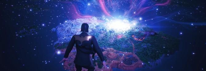 Рождение новой вселенной в синематике Fortnite Chapter 2