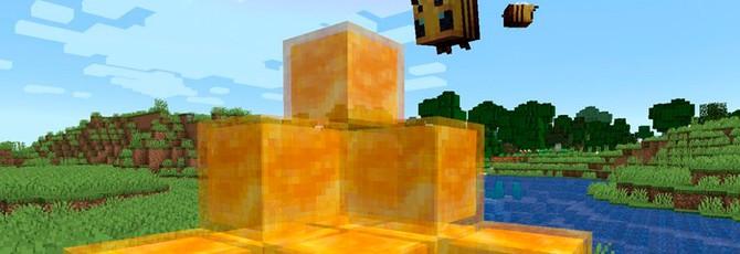 Игроки Minecraft научились паркуру — все благодаря медовым блокам