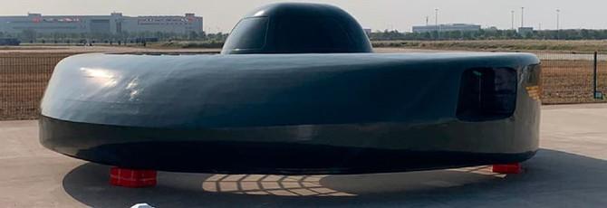 """Great White Shark — боевой китайский вертолет, похожий на летающее """"блюдце"""" пришельцев"""