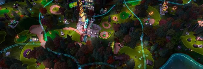 Синтез экономической стратегии, пинбола, гольфа и Tower Defense в первом трейлере GolfTopia