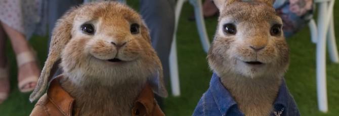 """Дебютный трейлер семейной комедии """"Кролик Питер 2"""""""