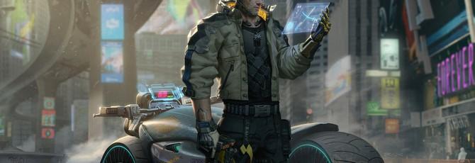 Художник детально перенес Геральта из The Witcher 3 в мир Cyberpunk 2077