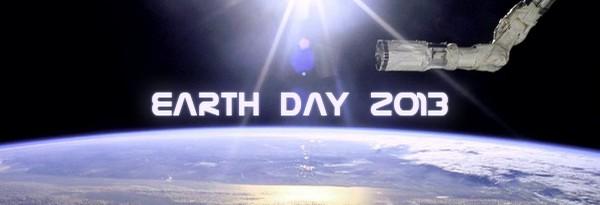 День Земли 2013 - Лайвстрим из космоса