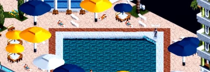 Игрок воссоздал трейлер GTA 5 в RollerCoaster Tycoon 2