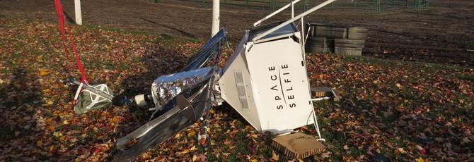 Селфи-спутник Samsung свалился на американскую ферму