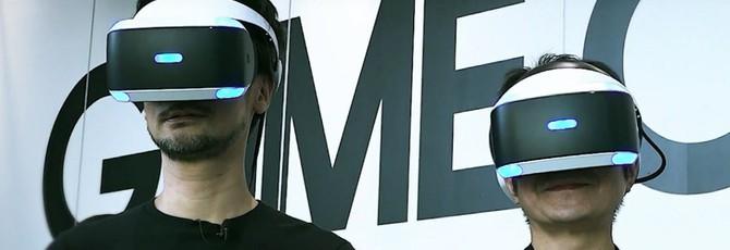 Кодзима заинтересован в разработке VR-тайтлов, но у него нет времени