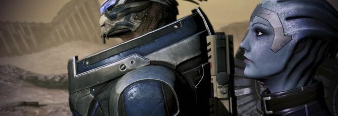 Вышел новый комплект текстур высокого разрешения для первых трех частей Mass Effect