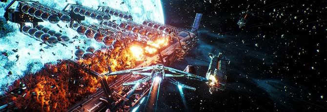 20 минут геймплея Everspace 2: лут, апгрейд корабля и битвы в космосе
