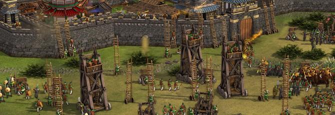 15 минут геймплея Stronghold: Warlords: строительство базы, военачальники и оборона