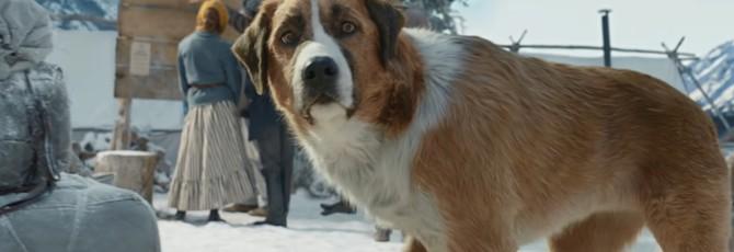 "Харрисон Форд и CGI-собака в трейлере ""Зова предков"""
