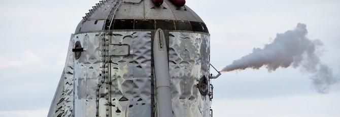 """У прототипа ракеты SpaceX Starship снесло """"крышу"""" во время испытания криосистемы"""