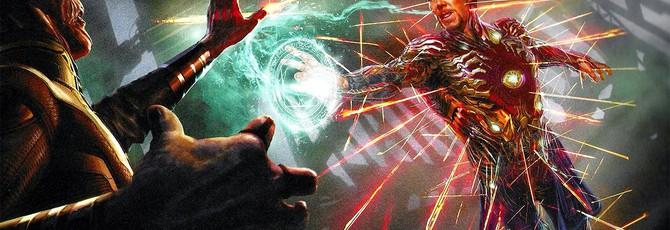 """Концепты """"Мстители: Финал"""" представляют Доктора Стрэнджа в костюме Железного Человека"""