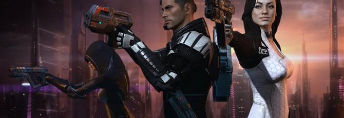 Энтузиаст улучшил качество катсцен Mass Effect 1-2