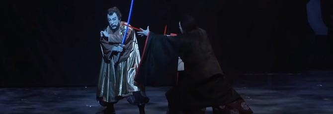"""В японском театре прошло выступление с сюжетом новых """"Звездных войн"""""""