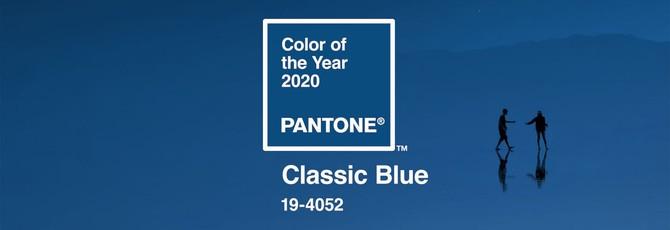 Институт Pantone назвала цвет 2020 года — классический синий