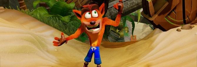 Activision намекает на скорый анонс новой игры серии Crash Bandicoot