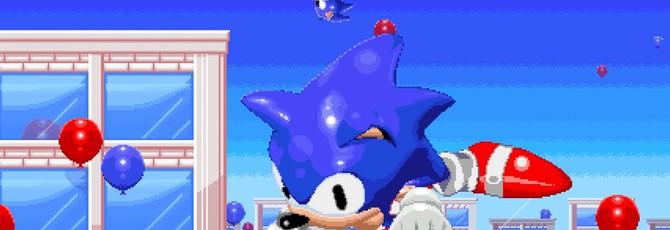 Первый трейлер фанатской игры про Соника, действие которой происходит во вселенной Sega