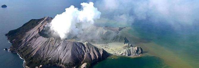 В Новой Зеландии произошло извержение вулкана, жертвы могут исчисляться десятками