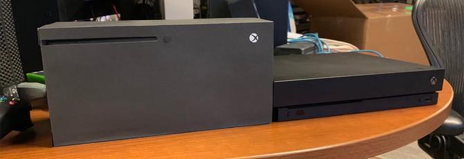 Размер важен: как выглядит Xbox Series X в сравнении с Xbox One X