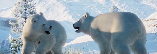 Белые мишки, полярное сияние и снежная Норвегия в трейлере DLC Arctic Pack для Planet Zoo