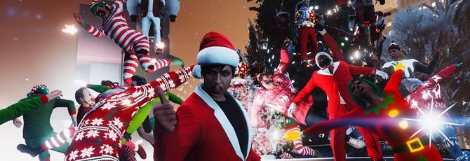 В GTA Online наступили праздники — куча подарков, скидок и игра в снежки