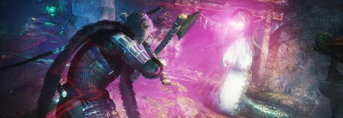 Сражение с боссом в новом геймплее Nioh 2