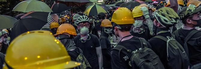 Гонконгские протесты докатились до GTA Online