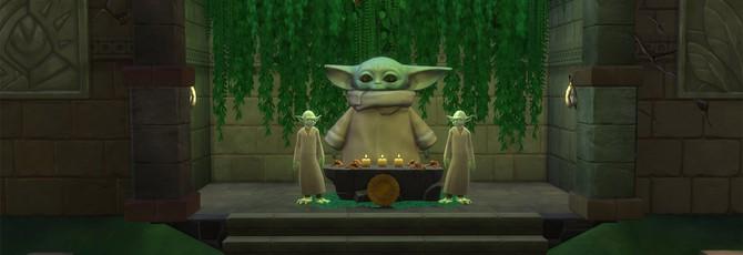Взгляните на храмы малышу Йоде, созданные игроками The Sims 4