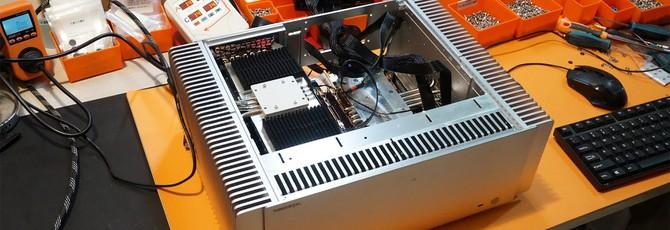 TureMetal собрала PC с 32-ядерным процессором EPYC и RTX 2070 — без единого кулера