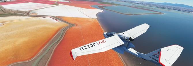 Фотореалистичный геймплей Microsoft Flight Simulator от Nvidia