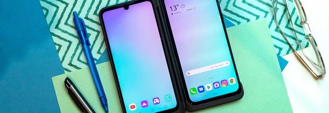 Патент LG намекает на смартфон с большим гибким дисплеем