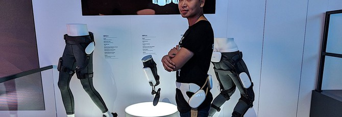 Samsung представила невидимую клавиатуру, фитнес экзоскелет и AR-очки на CES
