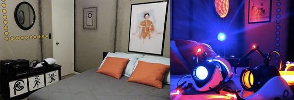 Спальня Тестового Субьекта Aperture Labs
