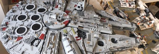 """Год работы, 16 тысяч деталей Lego и готовая база """"Эхо"""" из """"Звездных войн"""""""