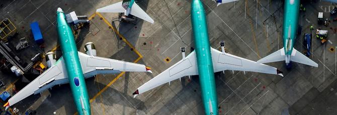 Boeing хочет занять $10 миллиардов из-за проблем с самолетами 737 Max
