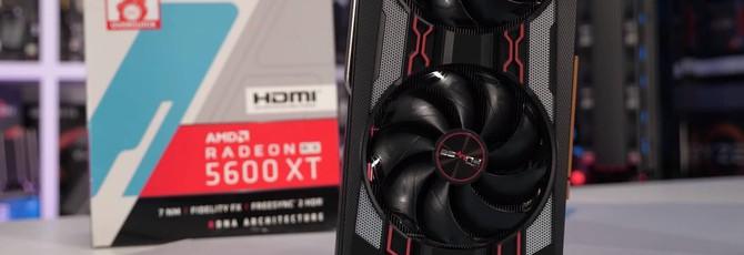 Тесты производительности RX 5600 XT — почти догоняет RTX 2060 Super