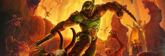 Геймдиректор Doom Eternal: Не могу передать, как круто игра выглядит на PS4 и Xbox One