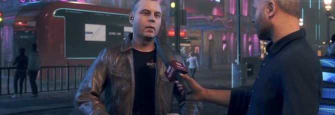BBC взяло интервью у разработчика Watch Dogs Legion внутри игры
