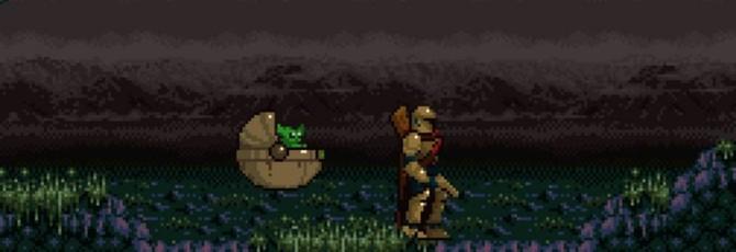 Мандалорца и малыша Йоду воссоздали в стиле Metroid