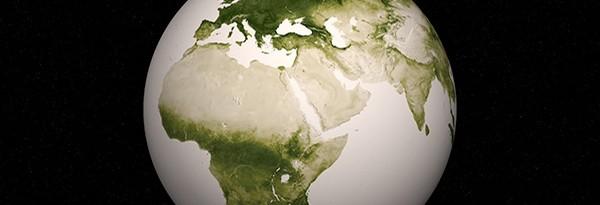 Sunday Science: вид из космоса на годовой цикл растительности